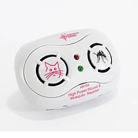 Отпугиватель мышей и комаров, AR 166B, ультразвуковой отпугиватель, ультразвук от комаров