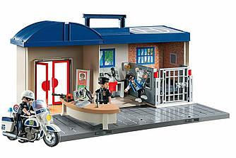 Playmobil 5689 Конструктор Набор Полицейский участок  Take Along Police Station
