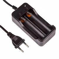 Зарядное устройство для аккумуляторов 18650 на 2 слота - MTLC-0420-0650 - зарядка, зарядник