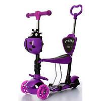 Самокат детский JR 3-026-L-V MAXI, фиолетовый, фото 1