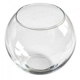 Декоративный аквариум круглый 250х300 мм для рыбок 13,5л Пет Импекс 24002