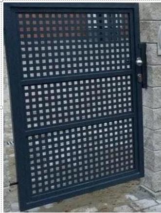 Калитка металлическая GRILLAGE распашная цена за 1м2
