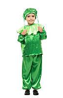 Детский карнавальный маскарадный костюм Кузнечик рост: от 110 до 134 см