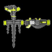 Зрошувач пульсуючий, на тризубі, LIME LINE, LE-6105