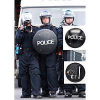 Противоударный полицейский щит. Великобритания, оригинал.