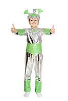 Детский карнавальный маскарадный костюм инопланетянина рост: 110/116, 118/124, 126/134