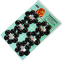 Кнопки пришивные №2 (12мм/36шт) Черные