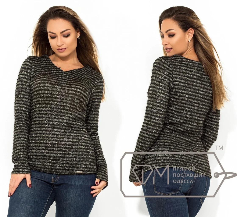 Ангоровый свитер, серый