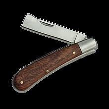 Нож садовый OKULIZAK складной (копулировочный),  KT-RG1202