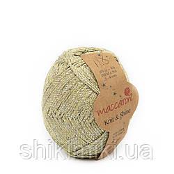 Трикотажний шнур з люрексом Knit & Shine, колір Полину