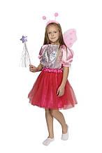 Дитячий карнавальний маскарадний костюм Метелика розмір:30-32,32-34