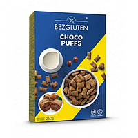 Сухой завтрак какао подушечки лесной орех 250г Bezglutex
