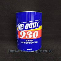 Каучуко-бітумна мастика Body 930; 5 кг, чорна