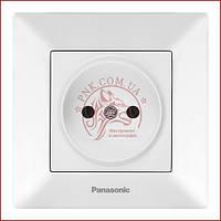 Розетка одинарна біла Panasonic arkedia slim (WNTC0201-2WH) (480200220)