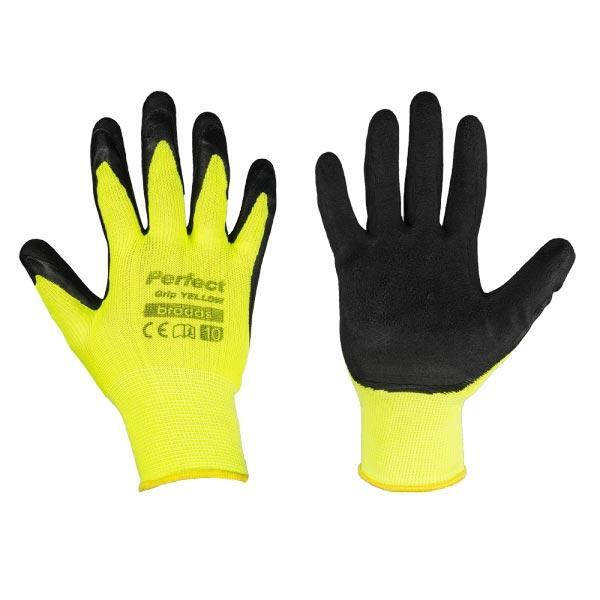 Захисні рукавички, PERFECT GRIP YELLOW, RWPGYN7