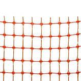 Сетка защитная, BARRIER NET, 100 г/м², 85х42мм, 1х30м,  AS-BR10085421030, фото 2