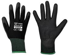 Перчатки защитные PURE BLACK PRO полиуретан, размер 9, RWPBCP9