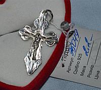 Серебряный крест 925 пробы, фото 1