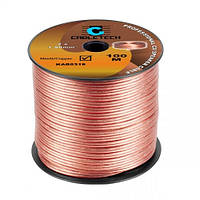Кабель акустичний Cabletech 2х1.5мм.кв., мідь professional cu speaker cable 1метр