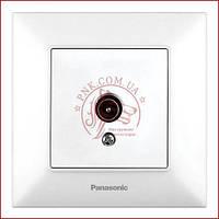 Розетка TV біла Panasonic arkedia slim (WNTC0454-2WH) (480200232)
