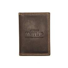 Визитница Always Wild 718-MH BROWN
