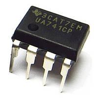 Микросхема UA741CP UA741CN LM741CN DIP-8 Операционный Усилитель