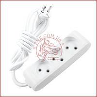 Удлинитель тройной 5 метров белый Panasonic X-tendia 250V 10A (WLTB0235-2GR) (480800087)
