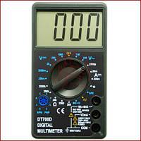 Цифровой мультиметр с прозвонкой универсальный Digital DT-700D