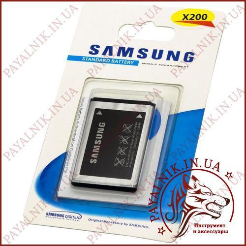 Аккумуляторная батарея (АКБ) для Samsung x200 (High copy)