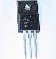 Транзистор полевой FQPF10N60C 10А 600V