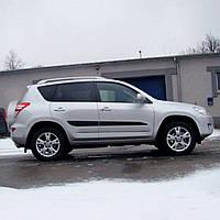 Молдинги на двери для Toyota RAV-4 2005-2012
