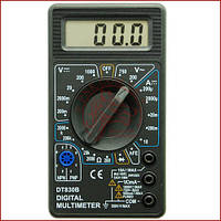 Мультиметр універсальний Digital DT-830B, вольтметр, амперметр (Оригінал)