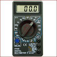 Мультиметр универсальный Digital DT-838, вольтметр, амперметр, звуковая прозвонка (Оригинал)