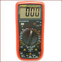 Мультиметр универсальный Digital VC-9208N, цифровой тестер с термопарой
