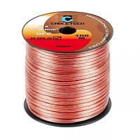 Кабель акустичний Cabletech 2х1.5мм.кв., безкиснева мідь professional cu speaker cable 1метр