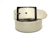 Ремень мужской кожаный TONY PEROTTI TP 4081 WHITE