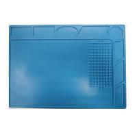 Силіконовий килимок для пайки і ремонту 335*220 термоковрик для розбирання електроніки
