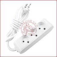 Удлинитель тройной 3 метра белый Panasonic X-tendia 250V 10A (WLTB0233-2GR) (480800086)