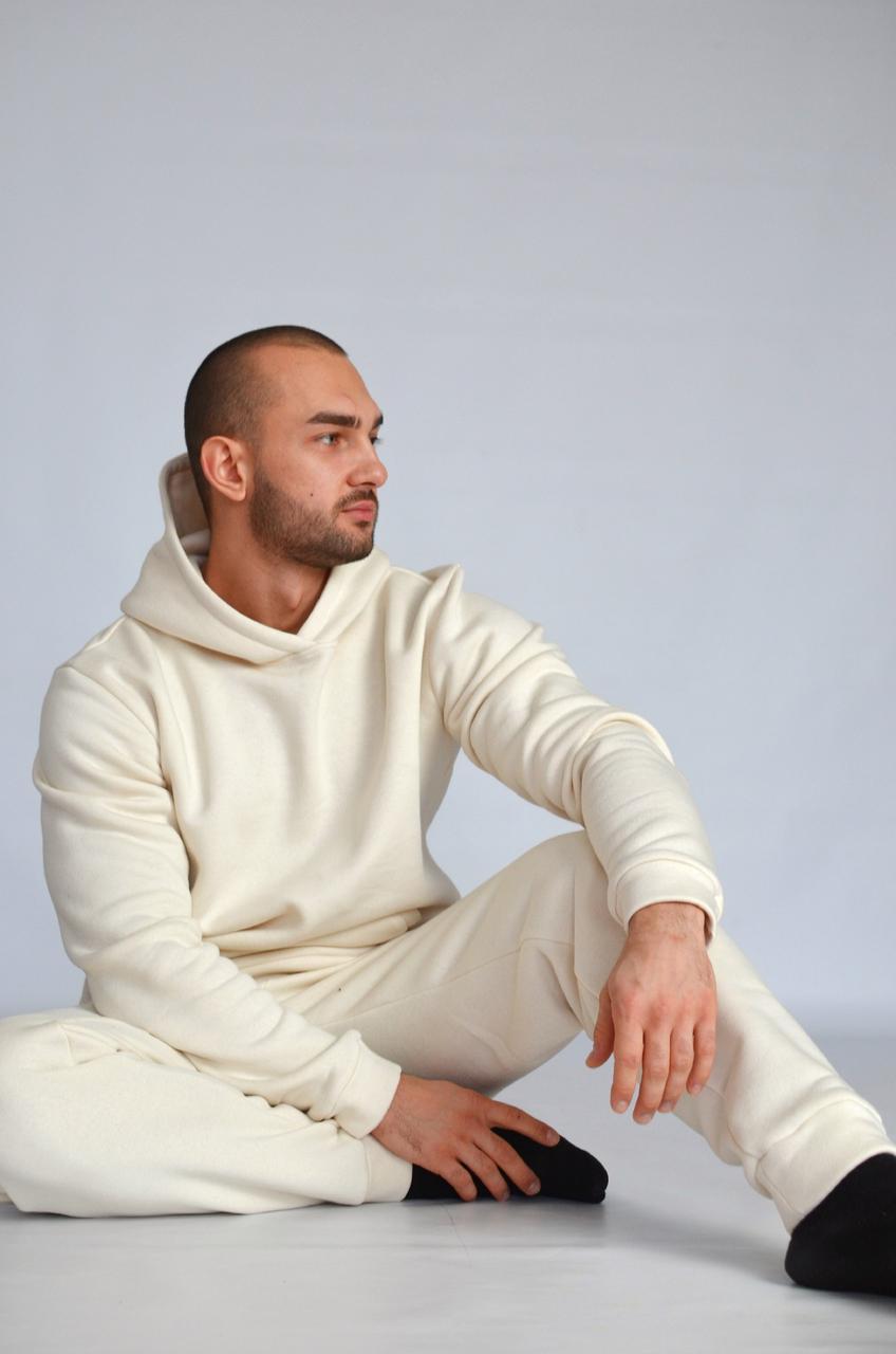 Мужской костюм Худи+штаны (2нитка)