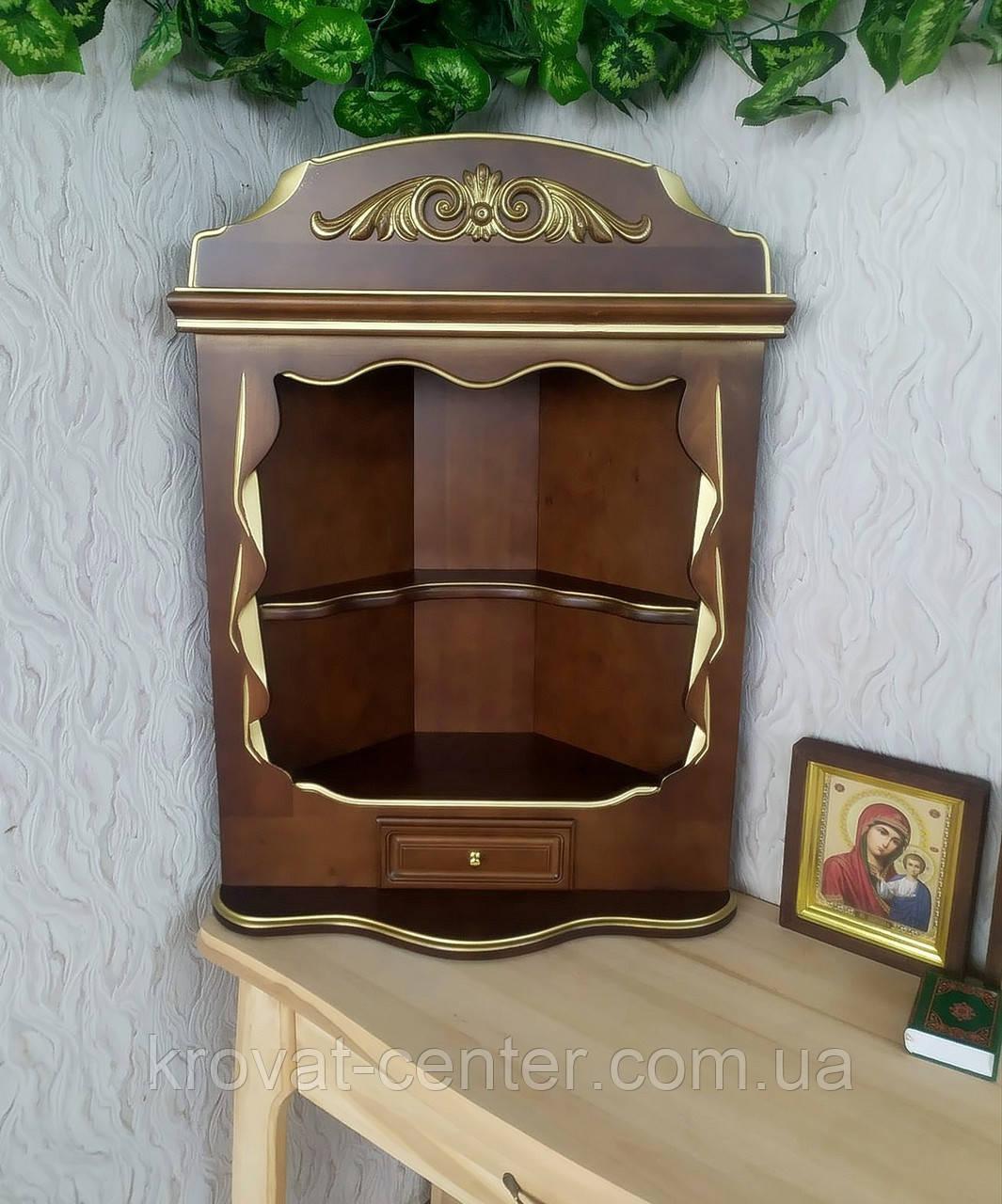 Домашний иконостас ручной работы из дерева навесной, настольный от производителя (цвет на выбор)