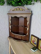 Домашний иконостас ручной работы из дерева навесной, настольный от производителя (цвет на выбор), фото 3