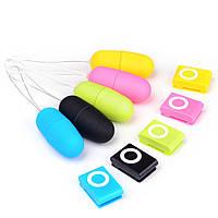 Бездротове віброяйце з пультом дистанційного управління MP3 20 режимів управління ( вібратор для жінок)