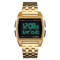 Мужские часы Skmei 1368 Gold-Black, фото 1