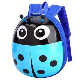 Детский рюкзак игрушка Божья коровка голубой, для детей от 1 до 8 лет