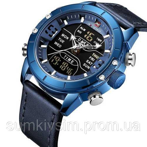 Мужские часы Naviforce NF9153L Blue-Black