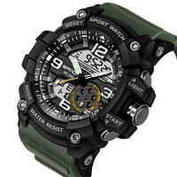 Мужские часы Sanda 759 Green-Black
