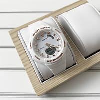 Женские часы Sanda 6005 White-Cuprum, фото 1
