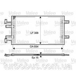 Радиатор кондиционера на Рено Трафик 06-> 2.5dCi (146 л.с.) — Valeo (Франция) - 814171
