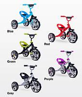 Детский трехколесный велосипед Caretero (Toyz) York