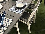 Набір садових меблів Harmony Fiesta Set 6 Cappuccino Brown ( капучіно коричневий ) ( Allibert by Keter ), фото 7